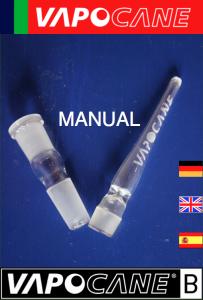 Manual VAPOCANE